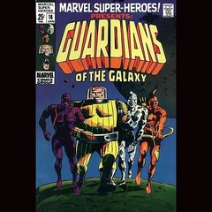 Old School #GuardiansOfTheGalaxy by Gene Colan. #comics