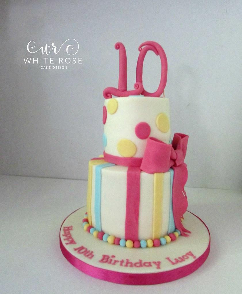 Ladies Hat 10th Birthday Cake Source White Rose Design S Most Interesting Flickr Photos Picssr