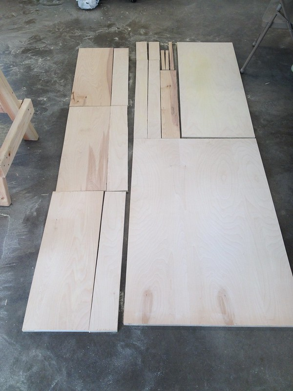 Plywood becomes Parts