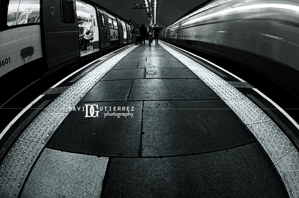London Underground, London, UK by David Gutierrez Photography, London Photographer.