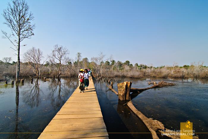 Causeway to Neak Pean in Siem Reap