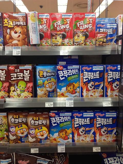 Lotte Mart cereals