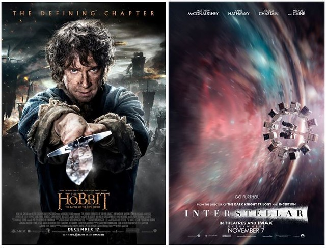 1 Hobbit & Interstellar