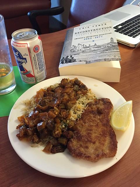 Okra Pilau Recipe — Dishmaps