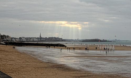 Saint-Malo marée basse