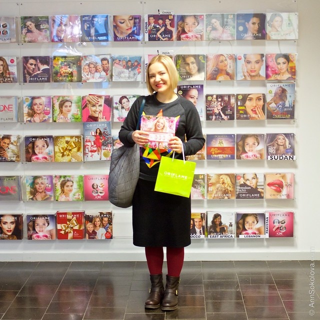 28 Oriflame Stockholm Press Tour Global Office, worlds cataloges Ann Sokolova