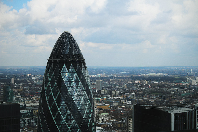Sky Garden View The Gherkin