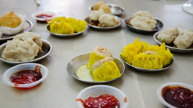Dim sum at Yik Kee Restaurant at Karak, Pahang