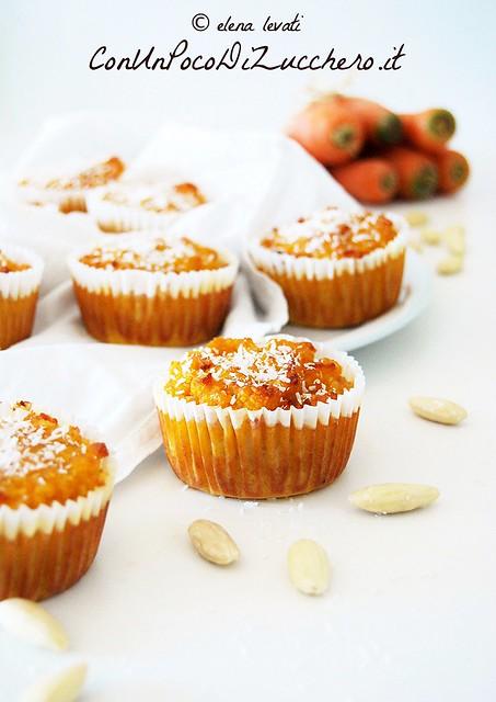 Mini Carrot Cakes (gluten free)