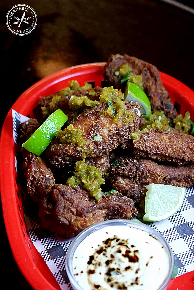 Mole Fried Chicken Wings, $14