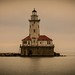 Chicago Light House by Ernie Steven Dickey