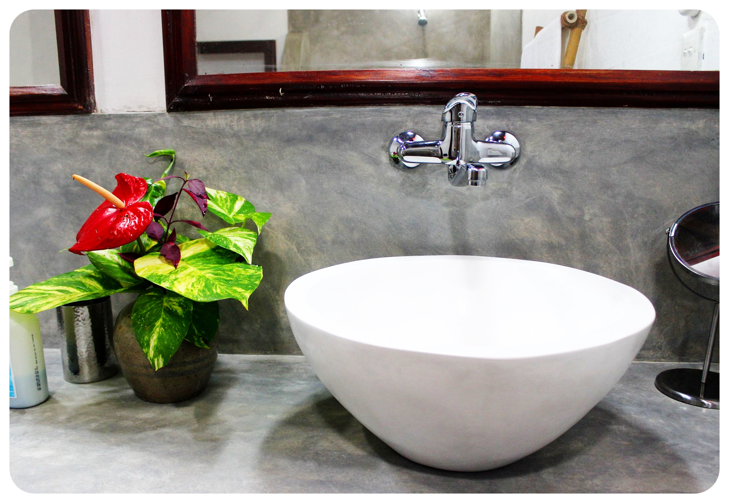 villa templeberg bathroom sink