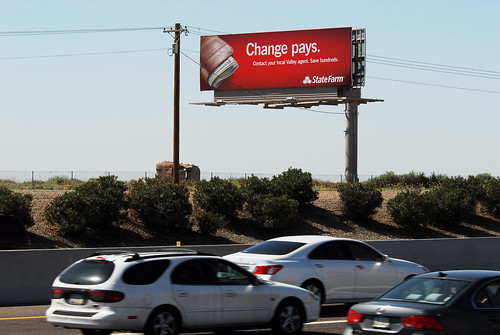 State Farm billboard - Santan Freeway Loop 202, Chandler, AZ