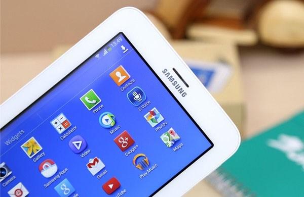 Galaxy Tab 3 Lite với phiên bản màu trắng