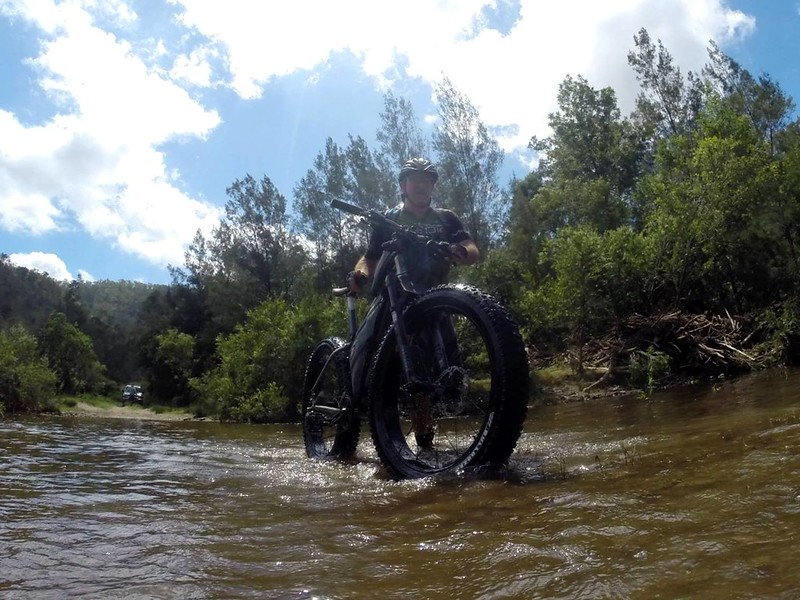 Floating Fat Bike