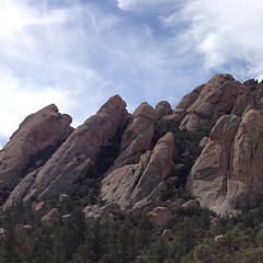 Holdout Canyon's crazy rocks.
