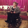 """Sandra Lambert reading last night from her novel """"The River's Memory."""" I bought because I loved the parts that she read and I am looking forward to cracking into it."""