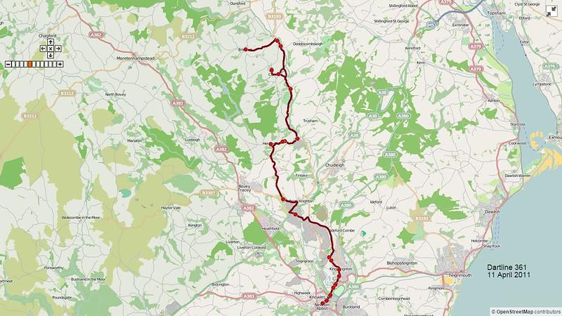 Dartline Route-361 2011-04-11