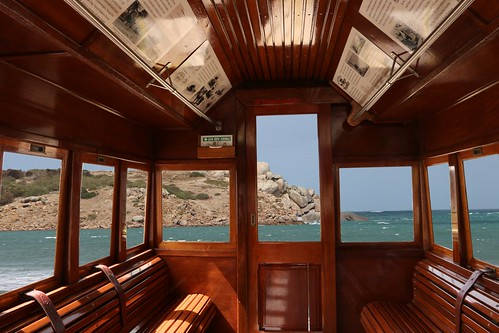 Tram to Granite Island