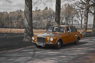 VOLVO 164-135 1969 B&W+SC (6273)