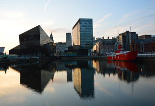 Liverpool harbour