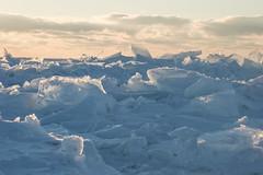 Protruding Lake Ice