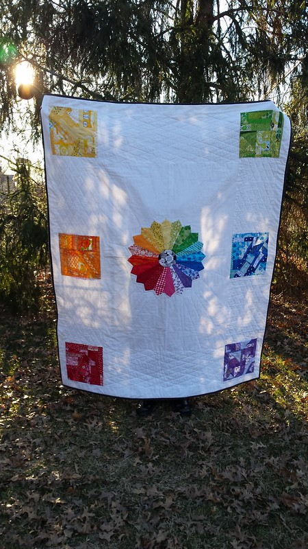 prism quilt-first finished look