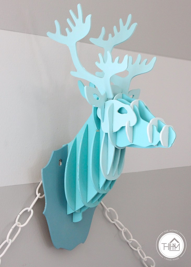 Ombre Deer Head-012