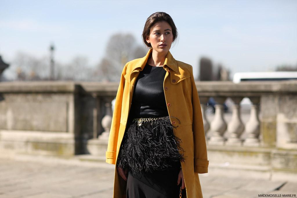 Sylvia Haghjoo at Paris Fashion Week