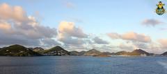 Last view of Sint Maarten / St. Martin
