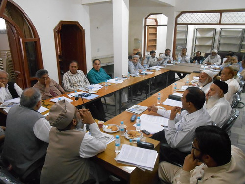 4th April 2015, Central Committee Meeting, All India Muslim Majlis-e-Mushawarat, AIMMM, New Delhi