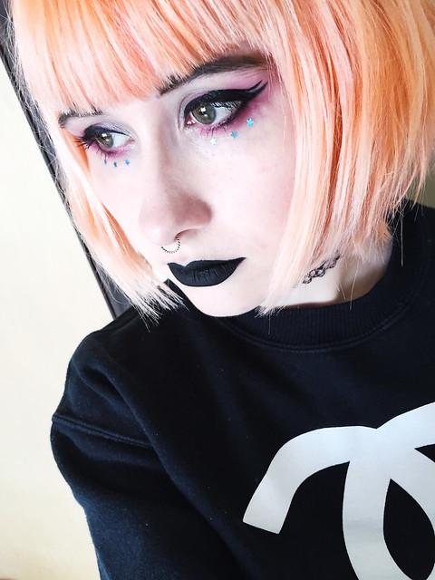 Anji Goth Makeup