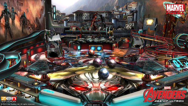 Avengers: Age of Ultron Pinball