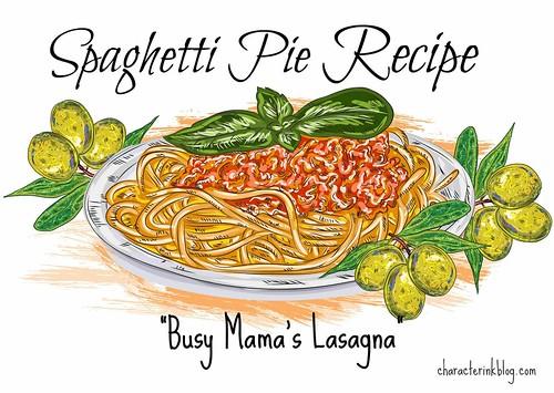 Spaghetti Pie (