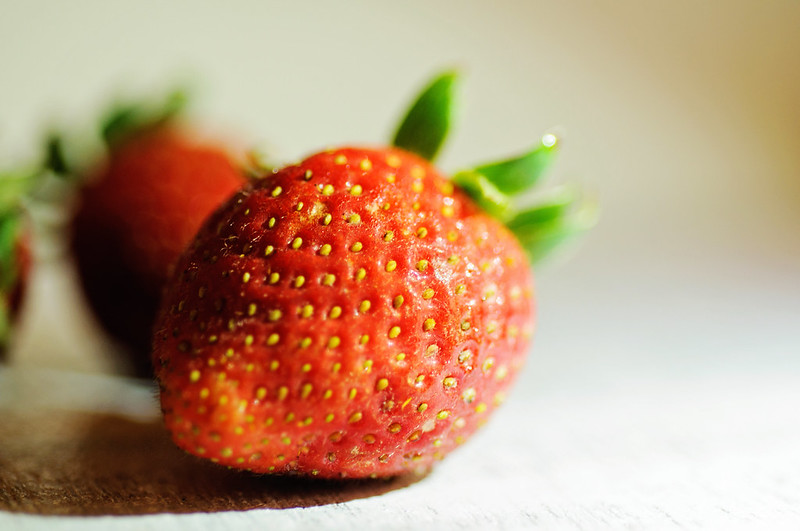 Day 68.365 - Strawberry Up Close