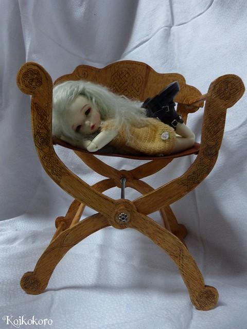 Les 3 Dames ~ meubles pour poupées : Fauteuil SD 16881056682_7d5a7636a2_z