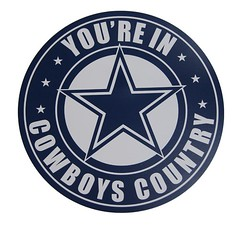 You're in Dallas Cowboys country - Cowboys Nation - The Boys Are Back website 2011