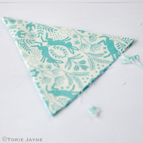 Mini bunting tutorial 6