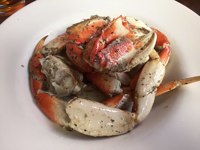 Chilled marinated dungeness crab - Capurro's Restaurant