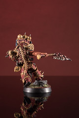 Khorne Daemonkin Warlord with Axe of Ruin