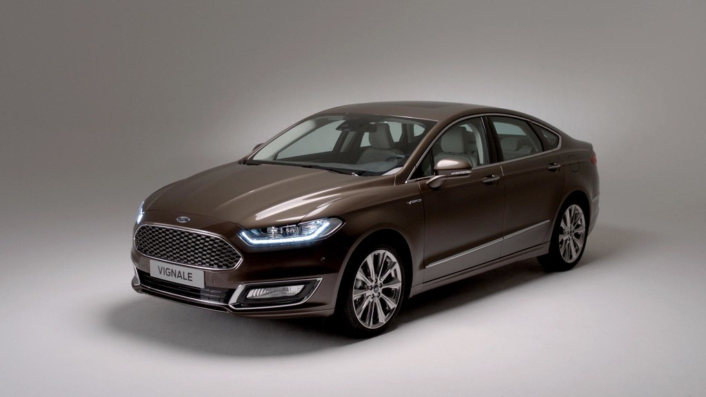 Ford unveils production version of the new Ford Vignale Mondeo