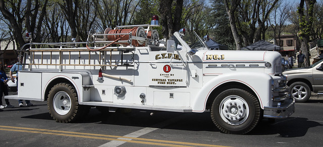 Old Central Yavapai Fire District Engine
