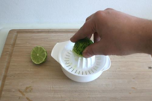 12 - Limetten auspressen / Squeeze limes