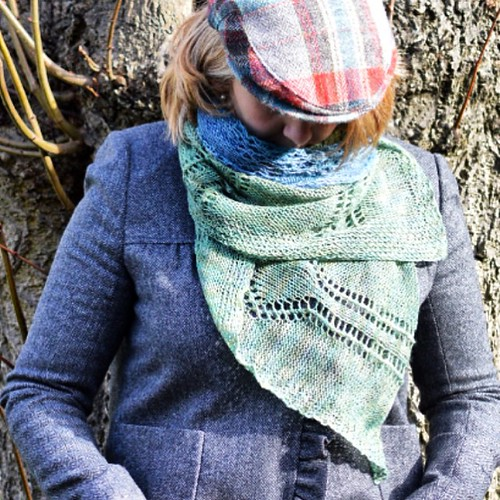 We love layering the Beaker Folk Shawl made with @smudgeyarns for a warm and feminine look. Come celebrate the book launch this Thurs 9 Apr with us? http://bit.ly/1yKDtGs