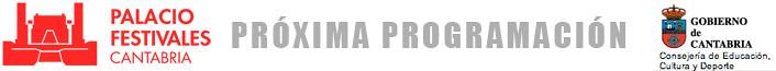 programacion del palacio de festivales