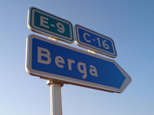 imagen graciosa de señal Berga