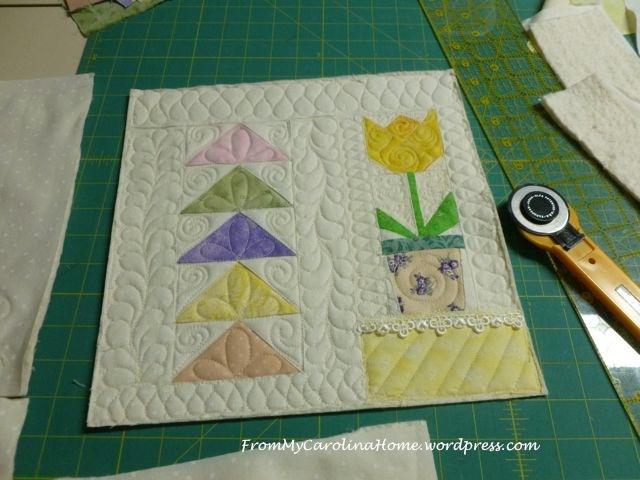 Spring Mini Quilt - 13