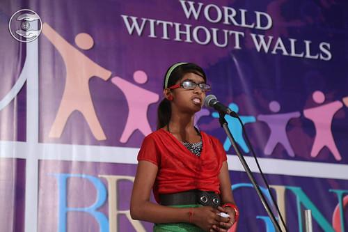 Child devotee expresses her views