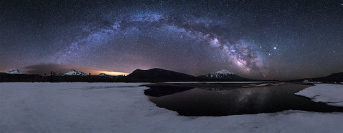 Sparks Lake Basin - Full Milky Way