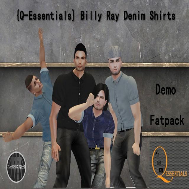 {Q-Essentials} Billy Ray Denim Shirts
